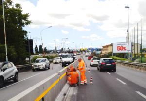 Opere di miglioramento sicurezza stradale - delimitazione di ostacolo fisso