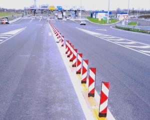 Valsamoggia (BO) - Fornitura di separatore di corsia per il nuovo casello di Autostrade per l'Italia sulla A1.