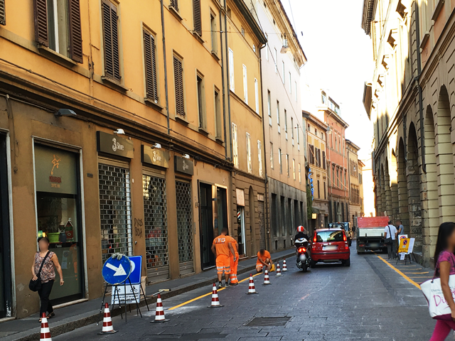 City of Bologna - Execution of temporary road markings