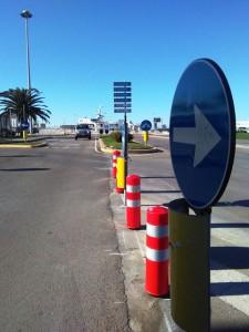 Comune di Porto Torres (Sassari) - Fornitura e posa in opera di Faro Segnalatore di colore rosso