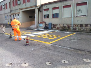 City of Giba - execution of horizontal road signs and supply of vertical signs.
