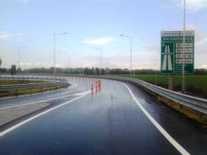 Valsamoggia (BO) - Fornitura di Faro Segnalatore e delineatori di corsia per l'apertura del nuovo casello di Autostrade per l'Italia sulla A1.