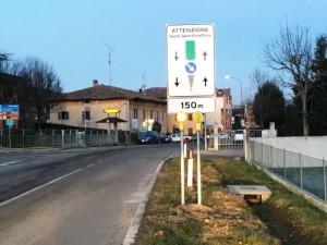 Comune di Monte San Pietro frazione Isole 2Spartitraffico