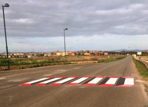 Porto Torres (SS) - lavori di manutenzione segnaletica orizzontale